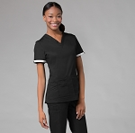 Maevn PrimaFlex Collection - Inner Beauty V-Neck Top