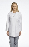 White Cross - Poplin 3 Pocket Basic Lab Coat