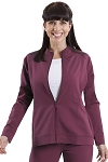 Healing Hands Purple Label - Dakota Front Zip Scrub Jacket