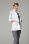 Maevn Red Panda Lab Coat - Women's 3/4 Sleeve Lab Coat