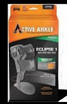 ACTIVE ANKLE ECLIPSE 1 (SINGLE UPRIGHT) RIGID BRACE - BLACK