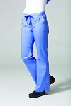 Maevn Blossom Collection  - Multi Pocket Flare Pant