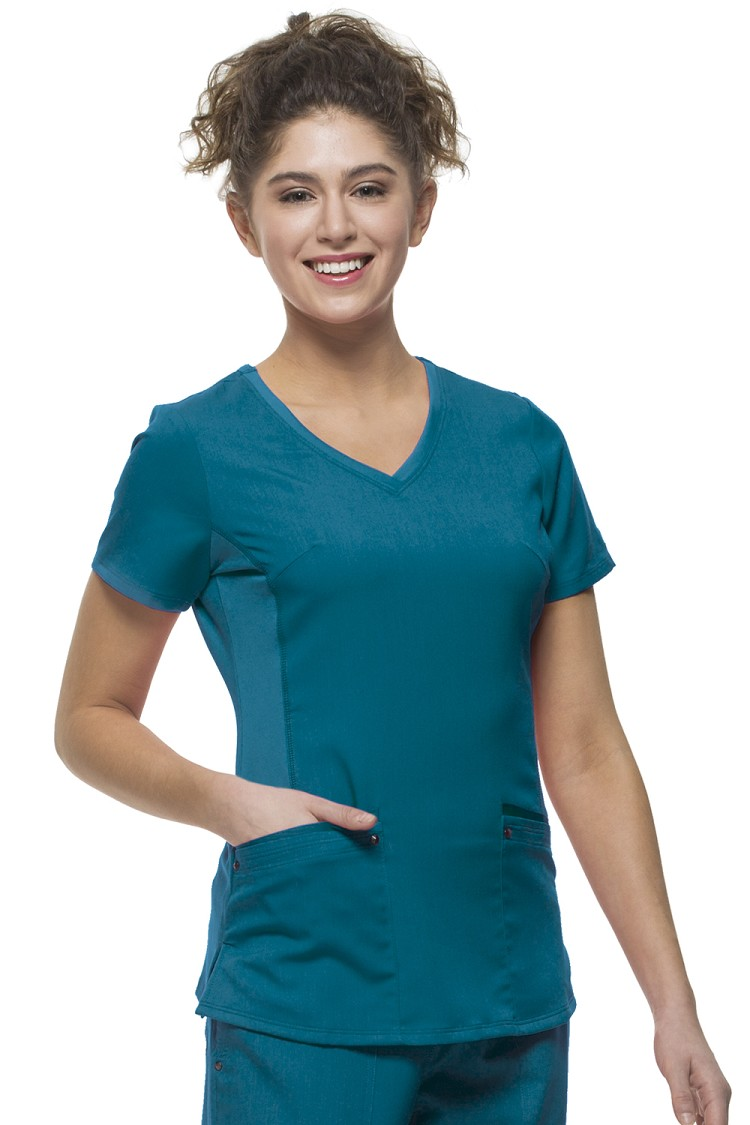 Healing Hands Purple Label Yoga - Juliet Scrub Top